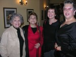 Eve, Liliane, Lynne & Anne