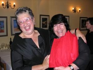 Anne & her treasured editor Karine Wagemakers