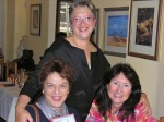 IWC Past Pres Naomi Furman, Anne & Future IWC Pres Patty Willis