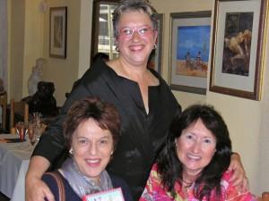 IWC Past Pres Naomi Furman, Anne & Future IWC Pres Patty Willis