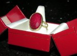 Ruby Ring from Menopause in Manhattan